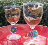 Thirty Second Blueberry Trifle