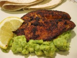Chili Lemon Tilapia with Guacamole
