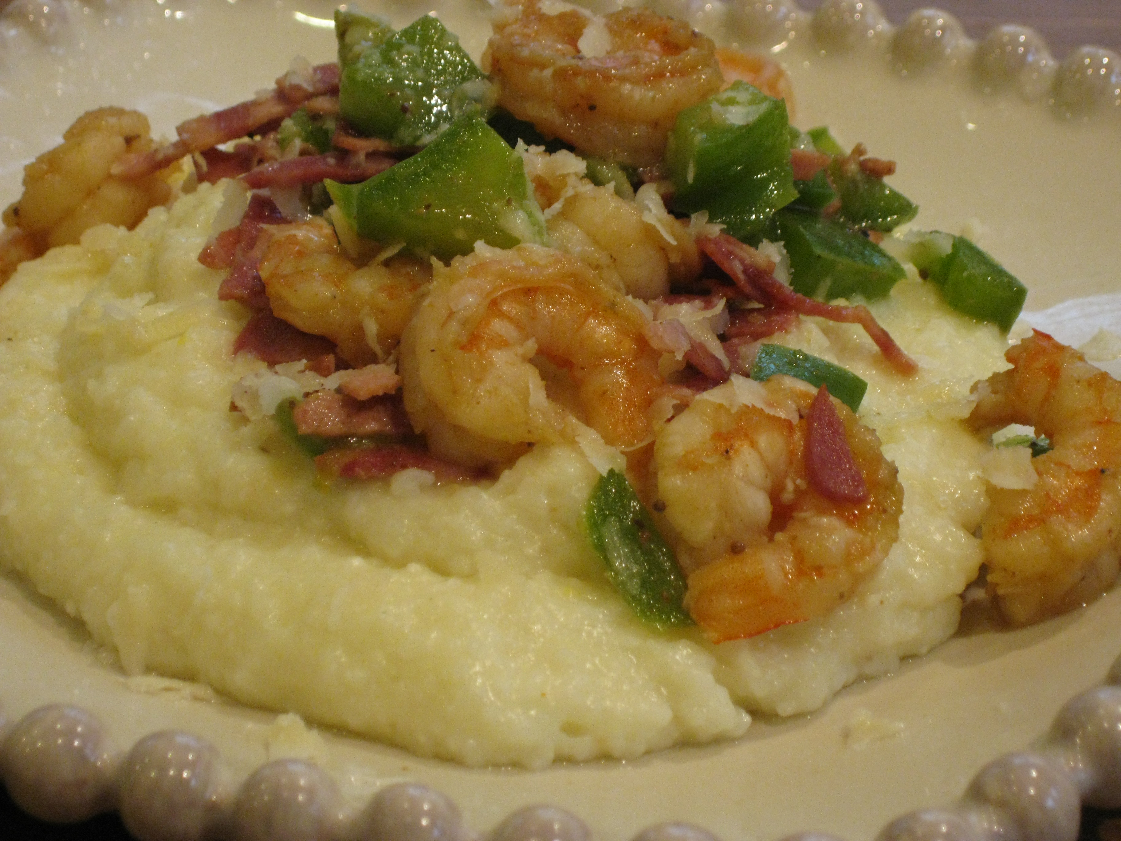 ... creamy parmesan grits recipe food wine creamy parmesan grits