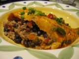 Black Bean & Turkey Enchiladas…in Your Own Kitchen!