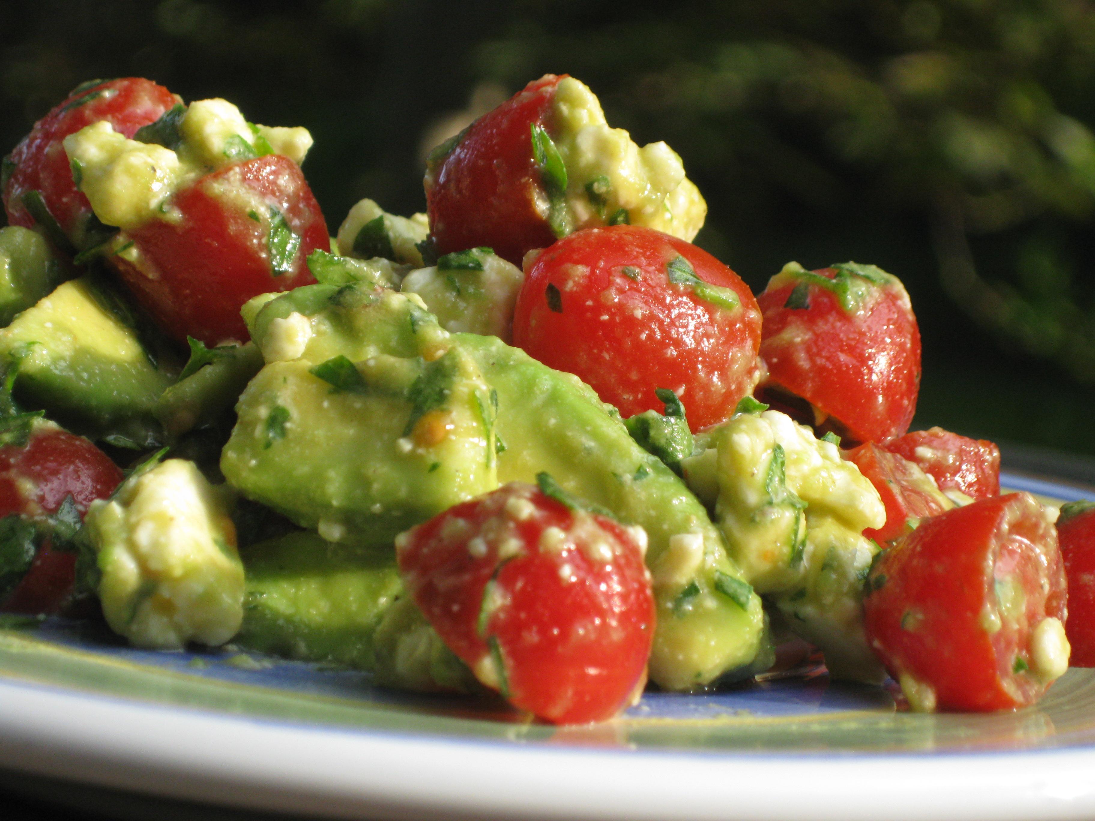 Tomato Feta Salad Recipe — Dishmaps