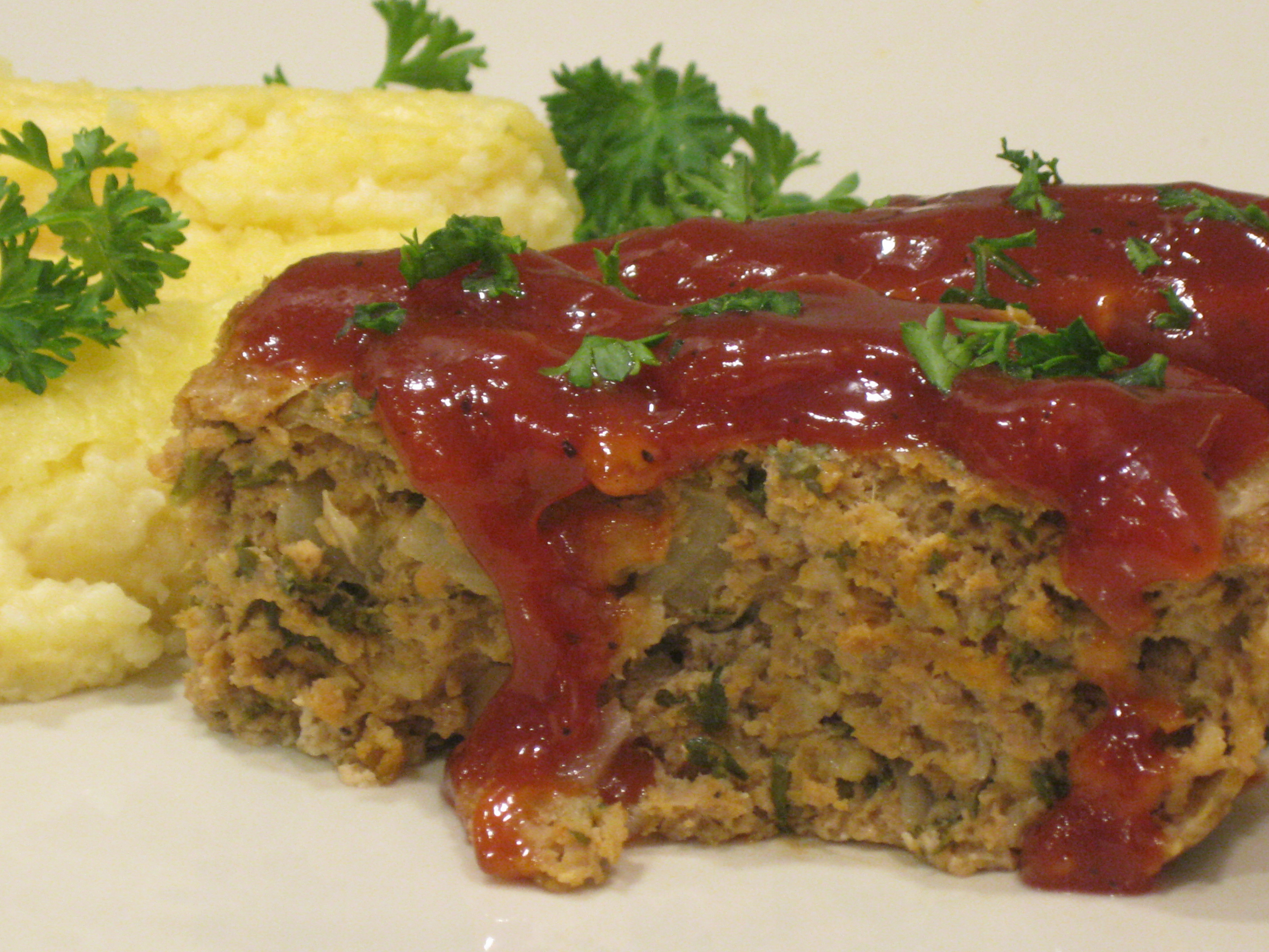 "Momma's Turkey ""Meatloaf"" and Tomato Gravy 