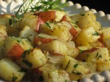 Roasted Tarragon Garlic Potatoes